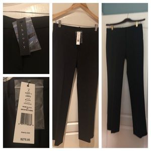 Theory Emery 2 slacks a size 6, Black, never worn